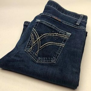 WRANGLER Q-BABY BOOTCUT JEANS 9/10x32 LIKE NEW 🦋